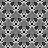 Design seamless monochrome spiral pattern Royalty Free Stock Photography