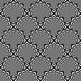Design seamless monochrome spiral pattern royalty free illustration