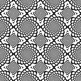 Design seamless monochrome spiral snakeskin pattern Royalty Free Stock Photo