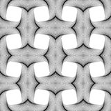 Design seamless monochrome square pattern Stock Photos