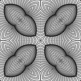 Design seamless monochrome striped background Stock Image