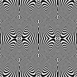 Design seamless monochrome striped pattern Royalty Free Stock Photo
