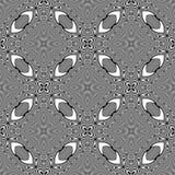 Design seamless monochrome striped pattern Stock Image