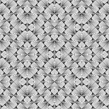 Design seamless monochrome striped pattern Stock Images