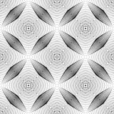 Design seamless monochrome striped pattern Royalty Free Stock Images