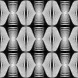 Design seamless monochrome stripy pattern Royalty Free Stock Photo
