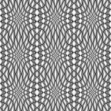 Design seamless monochrome stripy pattern Stock Photo