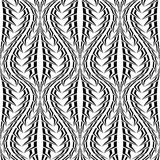 Design seamless monochrome stripy pattern Royalty Free Stock Photo