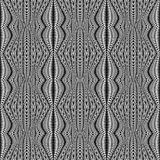Design seamless monochrome stripy pattern Royalty Free Stock Photography