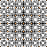 Design seamless monochrome tetragon pattern Royalty Free Stock Image