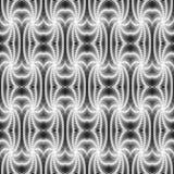 Design seamless monochrome textile pattern Stock Photography