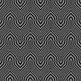 Design seamless monochrome trellised pattern Stock Photo