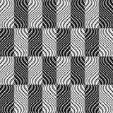 Design seamless monochrome trellised pattern Stock Photography