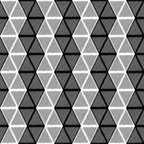 Design seamless monochrome triangle pattern Stock Photos