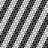 Design seamless monochrome triangle pattern Royalty Free Stock Photography