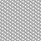 Design seamless monochrome twisted wave pattern Royalty Free Stock Photos