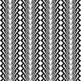 Design seamless monochrome vertical pattern Royalty Free Stock Images