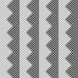 Design seamless monochrome vertical zigzag pattern Royalty Free Stock Images
