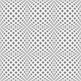 Design seamless monochrome warped pattern Royalty Free Stock Image
