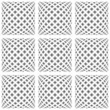 Design seamless monochrome warped pattern Royalty Free Stock Photo