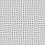 Design seamless monochrome warped zigzag pattern Stock Photo