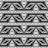 Design seamless monochrome waving pattern Royalty Free Stock Image