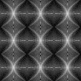 Design seamless monochrome whirl lines background Stock Photography