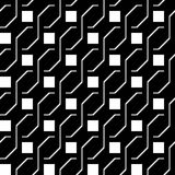 Design seamless monochrome zigzag pattern Royalty Free Stock Images