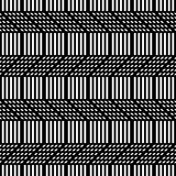 Design seamless monochrome zigzag pattern Royalty Free Stock Photo