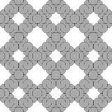 Design seamless monochrome zigzag pattern Royalty Free Stock Image
