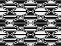Design seamless monochrome zigzag pattern Stock Photos