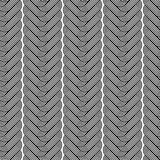 Design seamless monochrome zigzag pattern Stock Photos