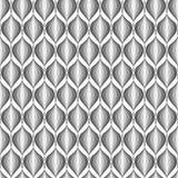 Design seamless monochrome zigzag wave pattern Stock Photo