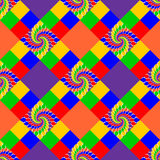 Design seamless multicolor abstract pattern Royalty Free Stock Image