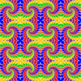 Design seamless multicolor abstract pattern.  Whir Royalty Free Stock Photos