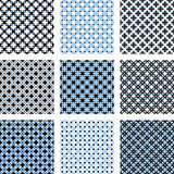 Design seamless pattern set Stock Images