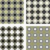 Design seamless pattern set Stock Photo