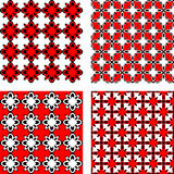 Design seamless pattern set Royalty Free Stock Photography