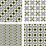Design seamless pattern set Royalty Free Stock Images