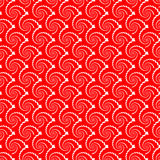 Design seamless red helix diagonal background Stock Images