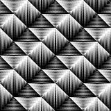 Design seamless square convex pattern Royalty Free Stock Image