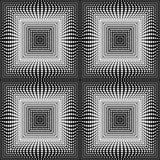 Design seamless square dots background Stock Photo