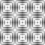 Design seamless square pattern Royalty Free Stock Photos
