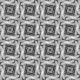 Design seamless square strip geometric pattern Stock Photos