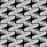 Design seamless striped decorative pattern Royalty Free Stock Photo