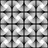 Design seamless swirl geometric pattern vector illustration