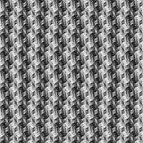 Design seamless twirl stripy diamond pattern Royalty Free Stock Photo