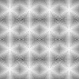 Design seamless uncolored geometric pattern Stock Images