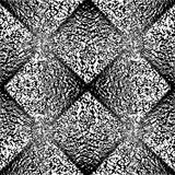 Design seamless uncolored geometric pattern Stock Photos