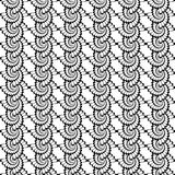 Design seamless uncolored vertical spiral backgrou Stock Images